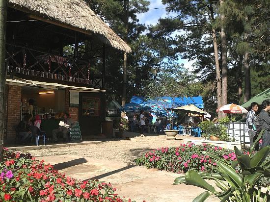 Da Lat, Vietnam: Reception area of Datanla