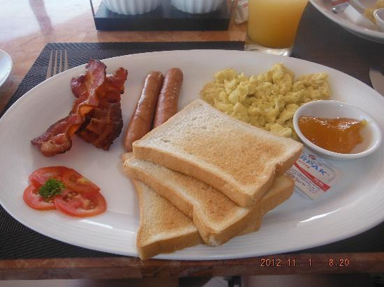 Bohol Vantage Resort: Power Breakfast