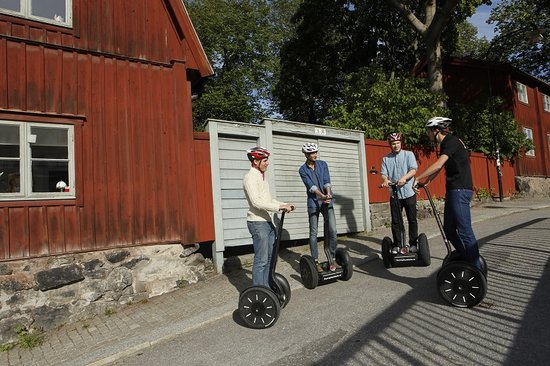 Daytrip Stockholm Segway Tours