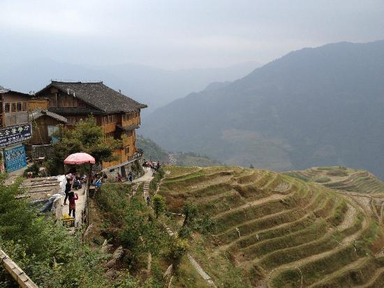 Li An Lodge: Nice view of the hotel