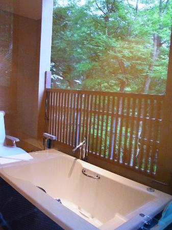 Hakone Suishoen: 部屋のお風呂・・2つもありました