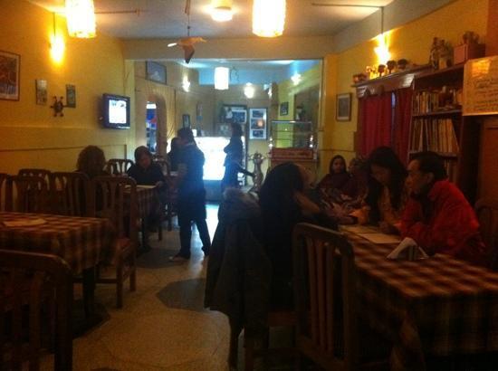 Seasons Restaurant: the interior of the restaurant