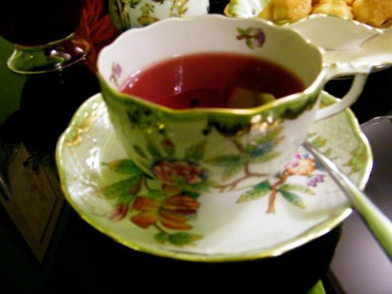 Budapeszt, Węgry: tea revitalizzante
