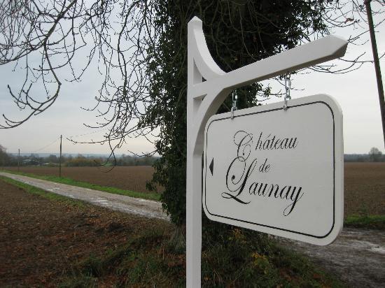 Château de Launay : Signpost