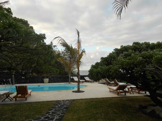La Maison D'ete Hotel: one of the two gorgeous pools