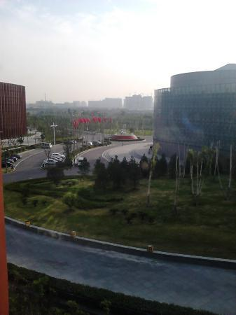 Jin Jiang International Hotel Xi'an: view from room on the second floor