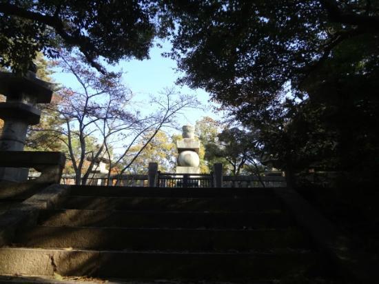 Hokokubyo : Hideyoshi Toyotomi's grave