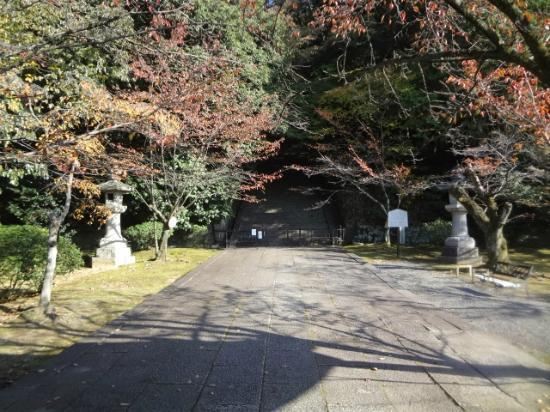 Hokokubyo : Entry to the stairs that lead to Hideyoshi Toyotomi's grave
