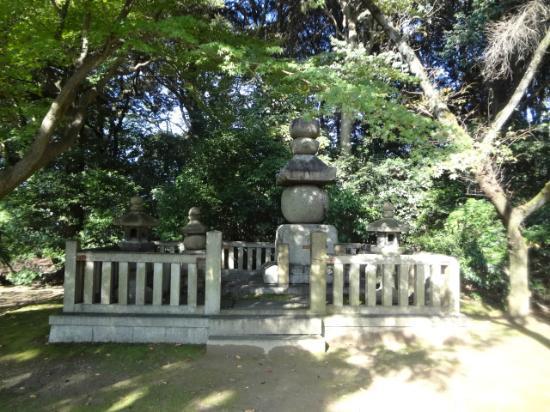 Hokokubyo : Grave