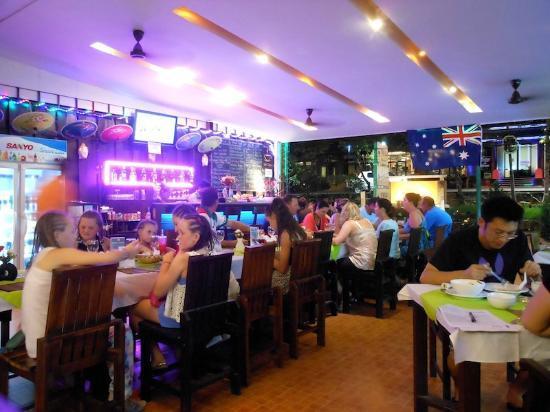 Lemongrass Hotel: Hotel Restaurant