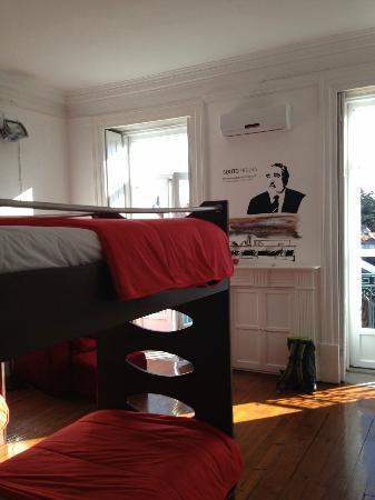 Gallery Hostel: Vierbettzimmer 1