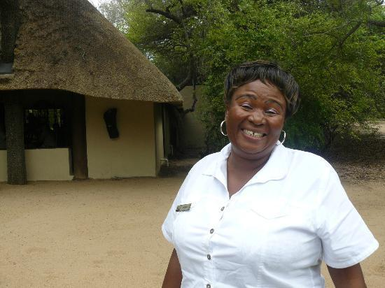 andBeyond Ngala Safari Lodge: Mamma Connie the best hostess ever