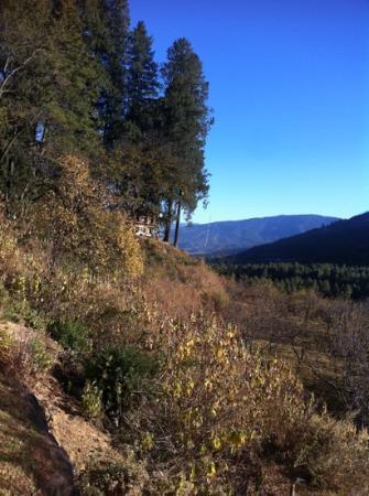 Drukgyel Dzong: on the way to the Dzong