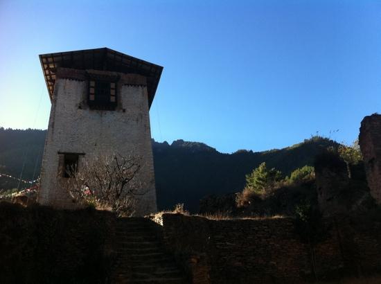 Drukgyel Dzong: part of the remains