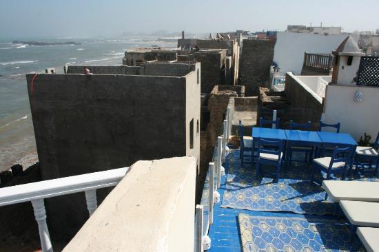 neighborhood from terrace