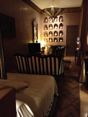 Riad Noir d'Ivoire: Zebra Room