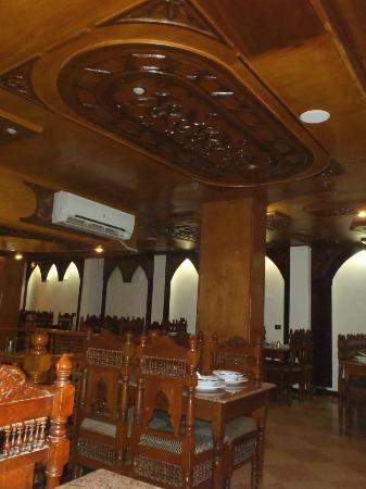 El Hussein Restaurant : l'étage