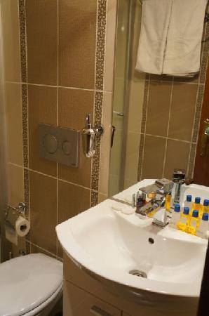 Blue Istanbul Hotel: Bathroom