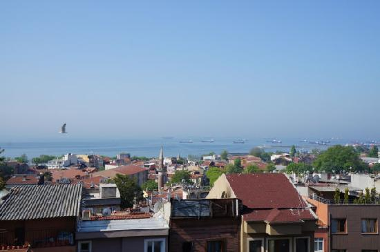 Blue Istanbul Hotel: Sea view