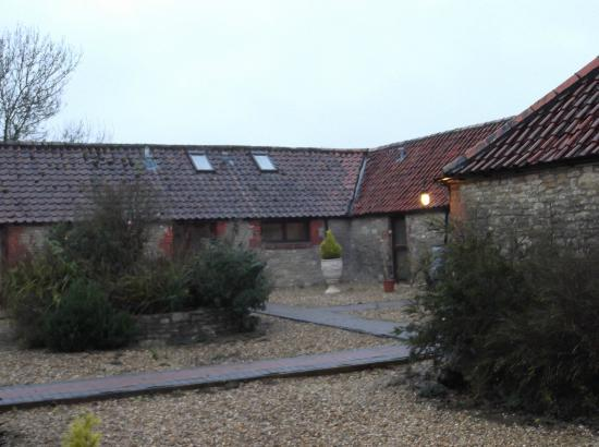 The Place To Stay : The converted barn are, now various rooms.
