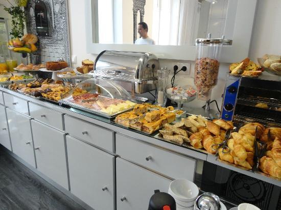 Teatro Bed & Breakfast: O pequeno-almoço sensacional!