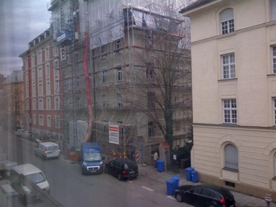 Derag Livinghotel Prinzessin Elisabeth: blick aus meinem Zimmer