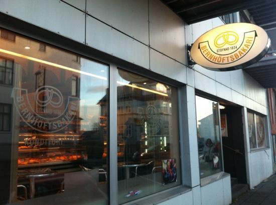 Bernhoftsbakari : This bakery was just opposite where we were staying, Reykjavik4you apartments