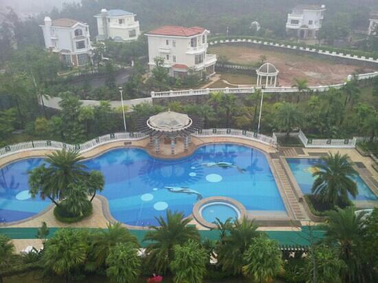 Phoenix City Hotel Guangzhou: 酒店的游泳池