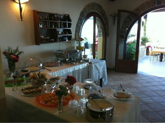 Stefanos Village Hotel: Breakfast Buffet
