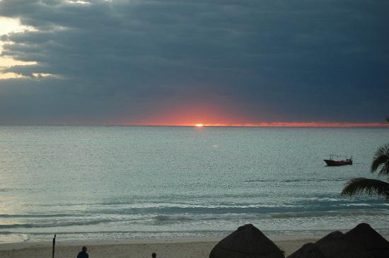 Catalonia Playa Maroma: Le lever du soleil