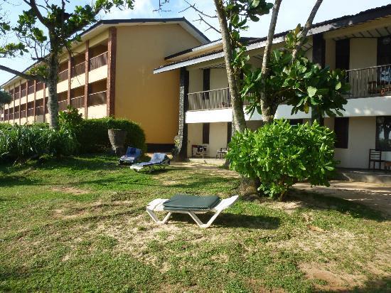Club Koggala Village: de kamers zijn rustig gelegen