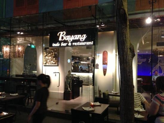 Bayang Balinese Cuisine: enterance