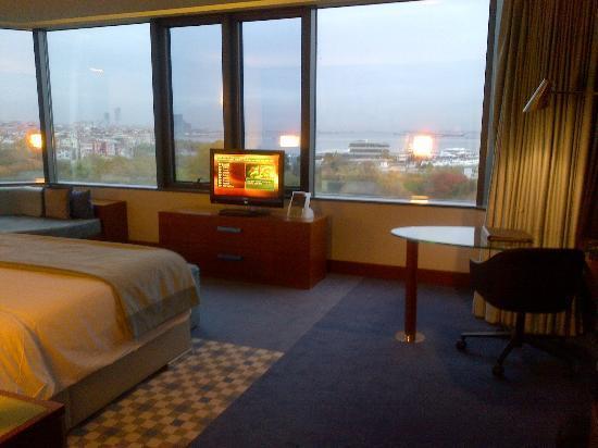 Sheraton Istanbul Atakoy Hotel: Blick aufs Meer