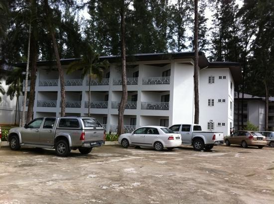 One Hotel Santubong: A block of the hotel's rooms