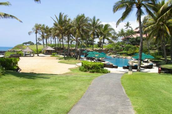 Pan Pacific Nirwana Bali Resort: big swimming pool