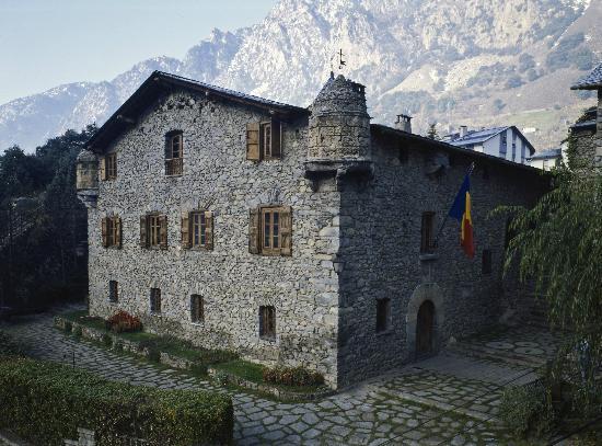 Andorra la Vella, Andorra: Exterior Casa de la Vall