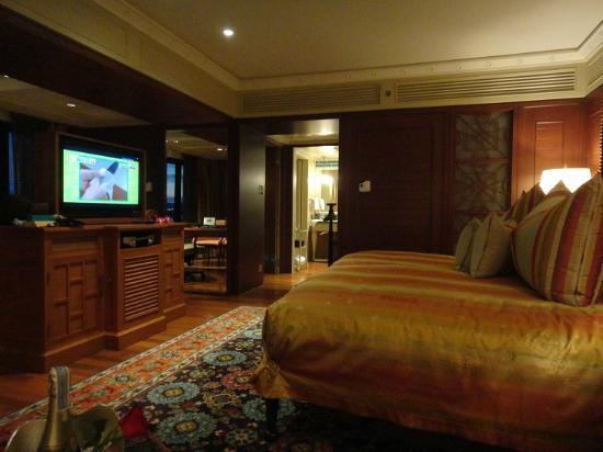 Mandarin Oriental, Bangkok : ベッドルーム