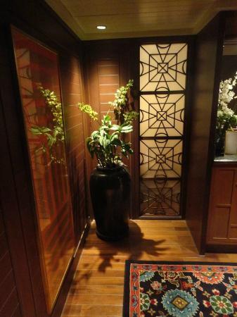 Mandarin Oriental, Bangkok : 玄関