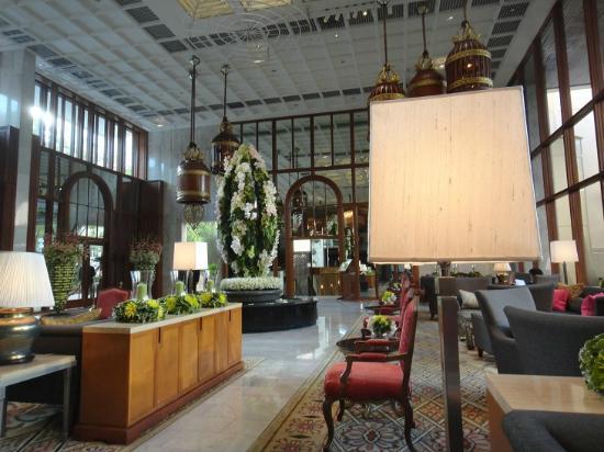 Mandarin Oriental, Bangkok : ロビー
