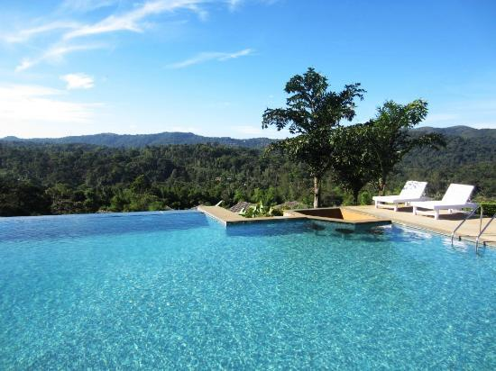 Another view from the pool picture of heritage resort coorg madikeri tripadvisor Hotels in coorg with swimming pool