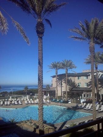 Cape Rey Carlsbad, a Hilton Resort: View from Balcony