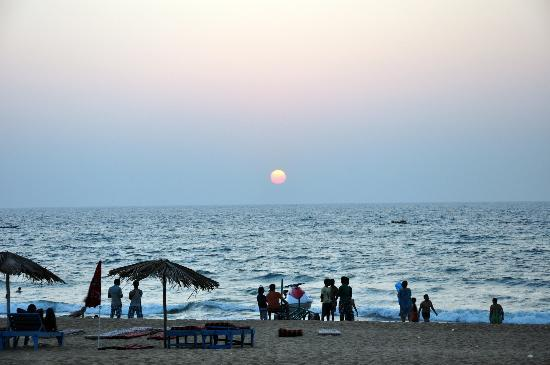 Hotel Goan Heritage: Sunset from the hotel