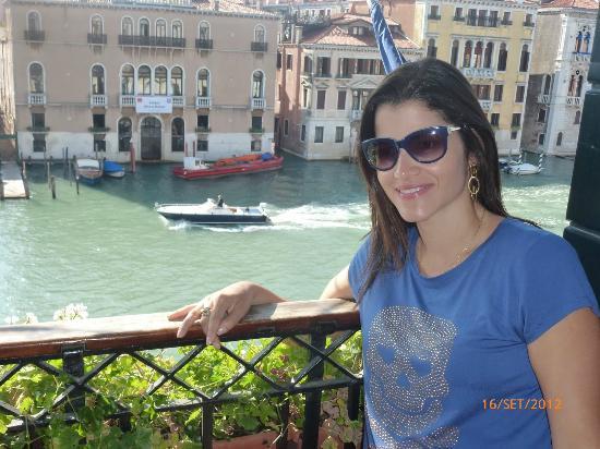 Ca' Angeli: Vista para o grande canal