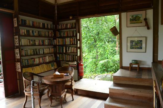 Tiger Rock: library pavilllion