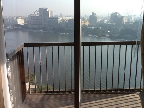 Sofitel Cairo El Gezirah : great views of the nole