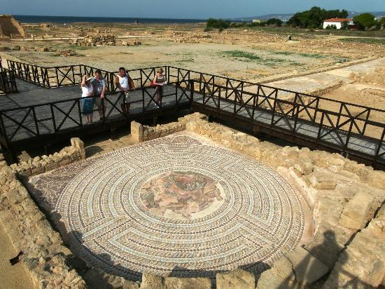 Mosaic at Kato Paphos Archaeological Park