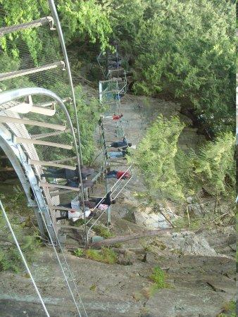 Подвесной мост и парк Капилано: Cliffwalk