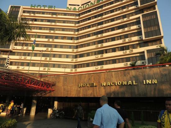 Nacional Inn Campinas Hotel : Fachada do Hotel