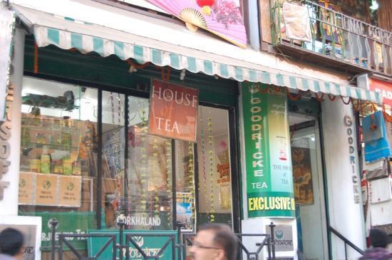 Goodricke, the House of Tea: the entrance