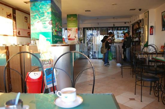 Goodricke, the House of Tea: interiors